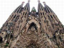 Außenansicht der Sagrada Familia