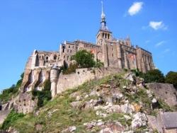 Der Mont-Saint-Michel in der Bretagne