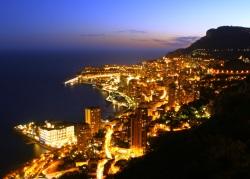 Abenddämmerung über Monte Carlo