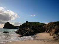 Strand und Meer in England