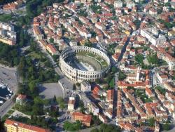 Amphitheater von Pula in Istrien
