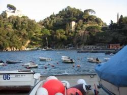Bootfahren in Ligurien