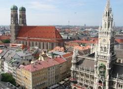 Innenstadt von München - Rathaus & Liebfrauenkirche