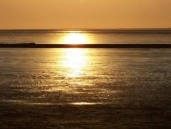 Sonnenaufgang in Norddeich