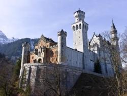 Schloss Neuschwanstein in Oberbayern
