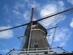 Windmühle in Ostfriesland