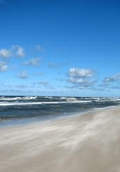 Meeresluft genießen im Urlaub an der Ostsee