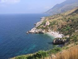 Bucht von Zingaro auf Sizilien