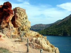 Beeindruckende Vulkanlandschaft von Sizilien