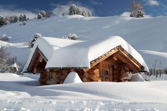 Unterkunft im Skigebiet
