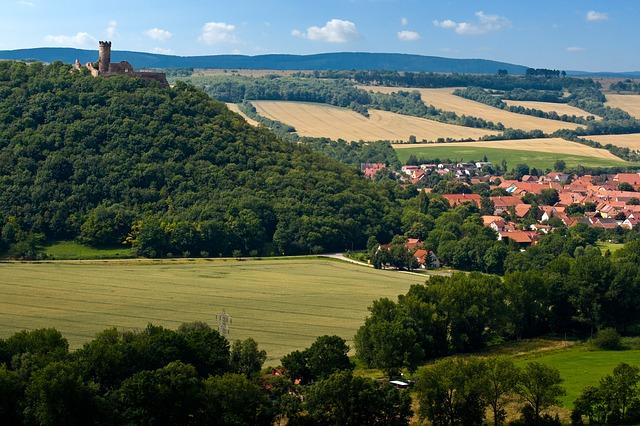 Panorama Thüringer Wald