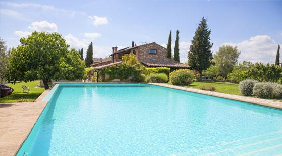 Urlaub mit Pool