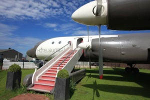 Luxuriösen Flugzeug-Suite in den Niederlanden
