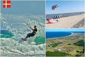 Kitesurfing in Dänemark