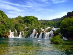 Krka Wasserfälle Kroatien