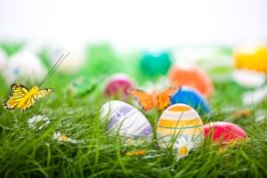 Ostern  in den schönsten Ferienhaus-Gärten