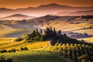 Toscana im Hochsommer