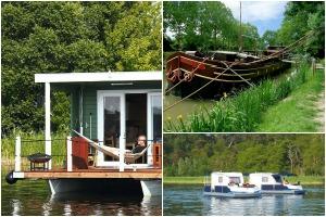 Urlaub im Hausboot