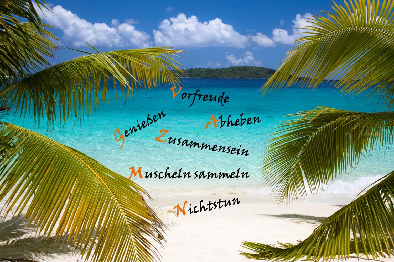 Urlaubs ABC