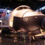 Die VSS Enterprise zum ersten Mal bemannt im All